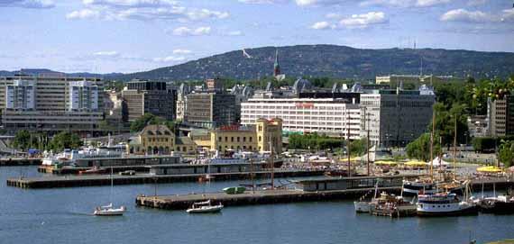 Norwegen, Oslo - Stadtansicht ( Urlaub, Reisen, Lastminute-Reisen, Pauschalreisen )