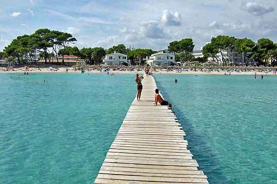 Strand Playa de Muro, Bucht von Alcudia, Mallorca, Balearen