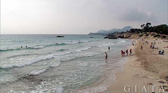 Strand Son Moll, Cala Rajada, Mallorca, Balearen
