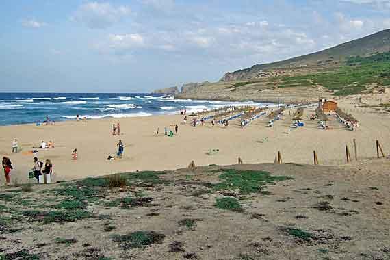 Strand Cala Mesquida, Mallorca, Balearen