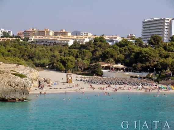 Cala Domingos, Calas de Mallorca, Mallorca, Balearen