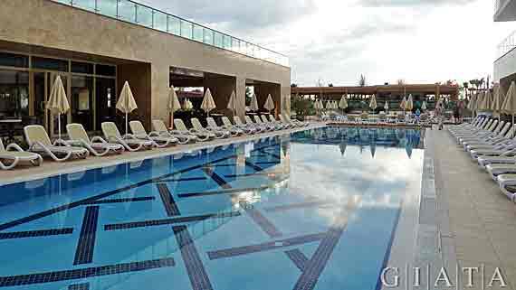 Trendy hotel verbena beach side evrenseki t rkei for Trendy hotel