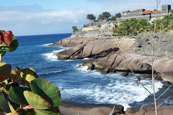Strandpromenade Costa Adeje, Teneriffa Süd ( Urlaub, Reisen, Lastminute-Reisen, Pauschalreisen )