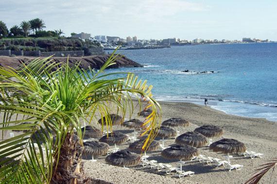 Strand Costa Adeje, Teneriffa Süd ( Urlaub, Reisen, Lastminute-Reisen, Pauschalreisen )