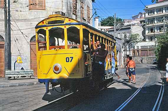 Brasilien - Mit der Straßenbahn durch Rio de Janeiro ( Urlaub, Reisen, Lastminute-Reisen, Pauschalreisen )