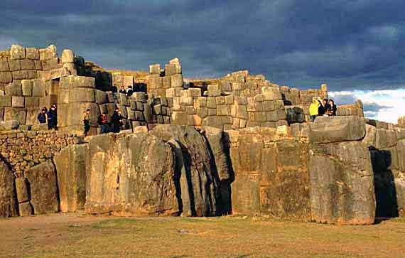 Peru,Cusco - Sacsayhuaman die bekannteste Ruinenanlage ( Urlaub, Reisen, Lastminute-Reisen, Pauschalreisen )