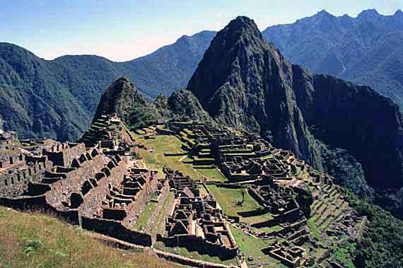 Peru, Ruinenstadt Machu Picchu ( Urlaub, Reisen, Lastminute-Reisen, Pauschalreisen )