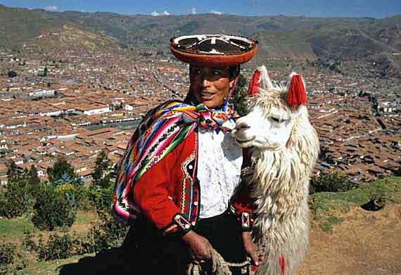 Südamerika, Peru, Blick auf Cusco ( Urlaub, Reisen, Lastminute-Reisen, Pauschalreisen )