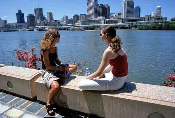 Australien, Queensland, Brisbane River ( Urlaub, Reisen, Lastminute-Reisen, Pauschalreisen )