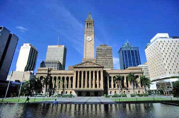 Australien, Queensland, Historisches Brisbane ( Urlaub, Reisen, Lastminute-Reisen, Pauschalreisen )
