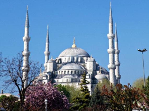 """Türkei - Sultan-Ahmed-Moschee/""""Blaue Moschee"""" in Istanbul ( Urlaub, Reisen, Lastminute-Reisen, Pauschalreisen )"""