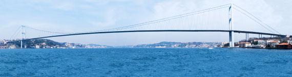 Türkei, Istanbul - Bosporus-Brücke ( Urlaub, Reisen, Lastminute-Reisen, Pauschalreisen )