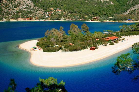 Türkei, Strand Blaue Lagune ( Urlaub, Reisen, Lastminute-Reisen, Pauschalreisen )