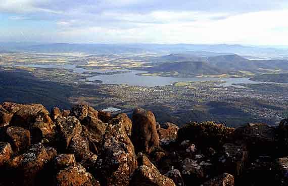 Australien - Landschaft auf Tasmanien (Urlaub, Reisen, Last-Minute-Reisen, Pauschalreisen)