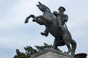 Türkei, Atatürk Statue in Samsun ( Urlaub, Reisen, Lastminute-Reisen, Pauschalreisen )