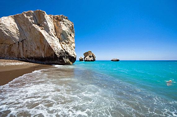 Zypern, Felsen der Aphrodite in Paphos ( Urlaub, Reisen, Lastminute-Reisen, Pauschalreisen )