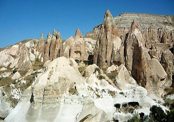 Türkei, Anatolien, Kappadokien - Rote Tal, türkisch Kizil Cukur ( Urlaub, Reisen, Lastminute-Reisen, Pauschalreisen )