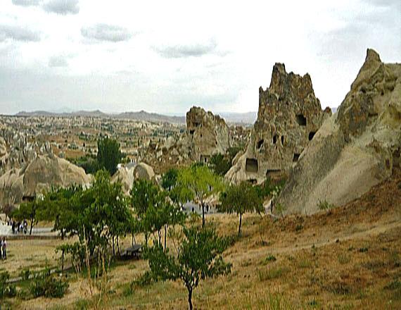 Türkei, Anatolien, Kappadokien – Freilichtmuseum Göreme ( Urlaub, Reisen, Lastminute-Reisen, Pauschalreisen )