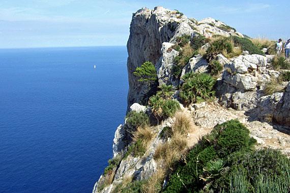 Aussichtspunkt Mirador Punta de la Nao auf Formentor, Mallorca, Spanien