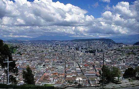 Ecuador - Hauptstadt Quito ( Urlaub, Reisen, Lastminute-Reisen, Pauschalreisen )
