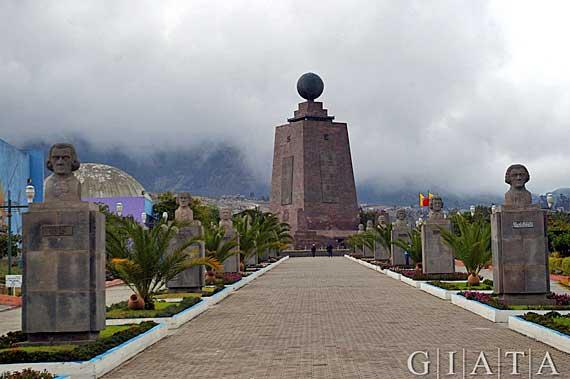 Ecuador - Mitad del Mundo, die Mitte der Welt ( Urlaub, Reisen, Lastminute-Reisen, Pauschalreisen )