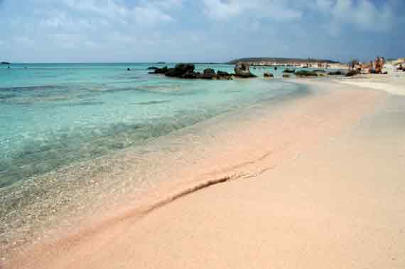Elafonisi-Beach  in Westkreta, Kreta, Griechische Insel ( Urlaub, Reisen, Lastminute-Reisen, Pauschalreisen )