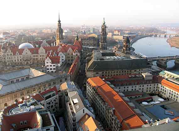 Altstadt Dresden, Sachsen, Deutschland (Reisen, Urlaub)