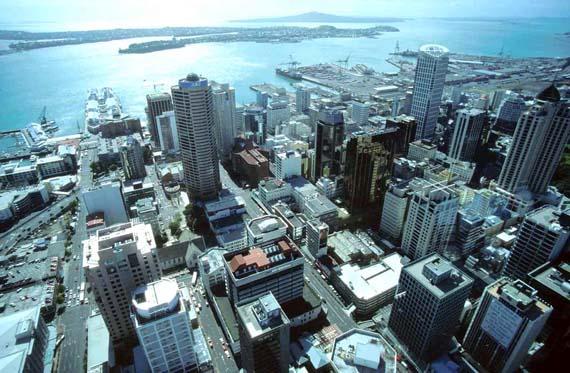 Neuseeland - Blick auf Auckland ( Urlaub, Reisen, Lastminute-Reisen, Pauschalreisen )