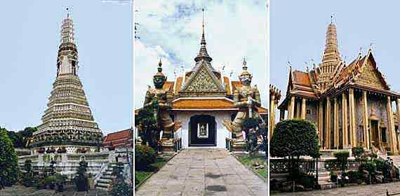 Tempel in Bangkok, Thailand ( Urlaub, Reisen, Lastminute-Reisen, Pauschalreisen )