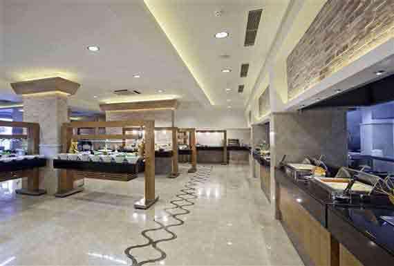 Hotel Voyage Bodrum Hauptrestaurant - Halbinsel Bodrum, Türkei Südägäis (  Urlaub, Reisen, Lastminute-Reisen, Pauschalreisen )