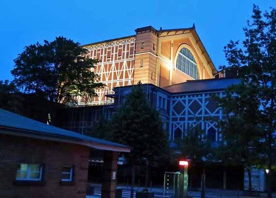 Bayreuth, Grüner Hügel – Richard Wagner Festspielhaus (Urlaub, Reisen, Last-Minute-Reisen, Pauschalreisen)