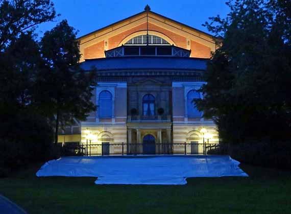 Bayreuth, Grüner Hügel – Richard Wagner Festspielhaus