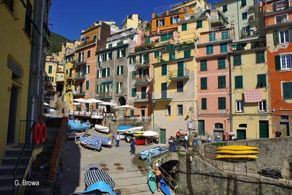 Riomaggiore, Cinque Terre - Ligurien, Italien