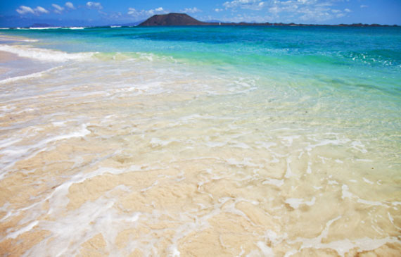 Kanaren, Fuerteventura - Corralejo Flag Beach ( Urlaub, Reisen, Lastminute-Reisen, Pauschalreisen )