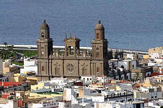 Gran Canaria, Las Palmas - Kathedrale Santa Ana ( Urlaub, Reisen, Lastminute-Reisen, Pauschalreisen )