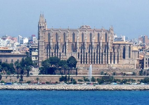 Mallorca, Palma - Kathedrale der Heiligen Maria ( Sa Seu) ( Urlaub, Reisen, Lastminute-Reisen, Pauschalreisen )