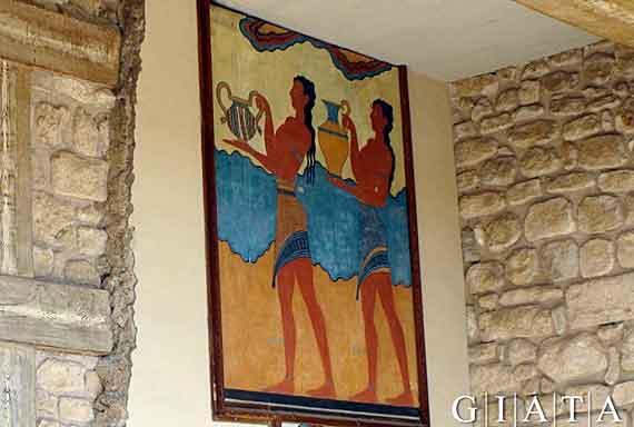 Palast Knossos, Kreta, Griechischel Insel, Kykladen Inseln ( Urlaub, Reisen, Lastminute-Reisen, Pauschalreisen )