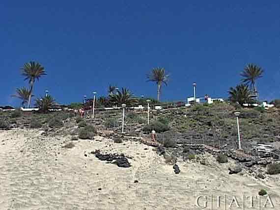 Treppe zum Strand, SBH Club Paraiso Playa - Esquinzo bei Jandia, Fuerteventura, Kanaren
