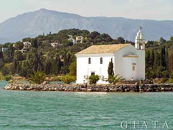 Gouvia,  Griechische Insel Korfu,  Ionischen Inseln ( Urlaub, Reisen, Lastminute-Reisen, Pauschalreisen )