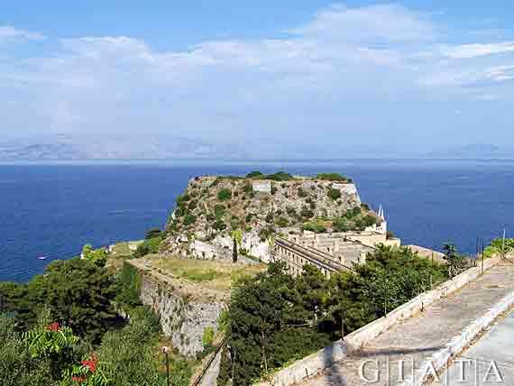 Stadt Korfu,  Griechische Insel Korfu,  Ionischen Inseln ( Urlaub, Reisen, Lastminute-Reisen, Pauschalreisen )