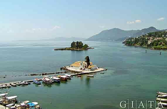 Kloster-Vlachema, Stadt Korfu,  Griechische Insel Korfu,  Ionischen Inseln ( Urlaub, Reisen, Lastminute-Reisen, Pauschalreisen )