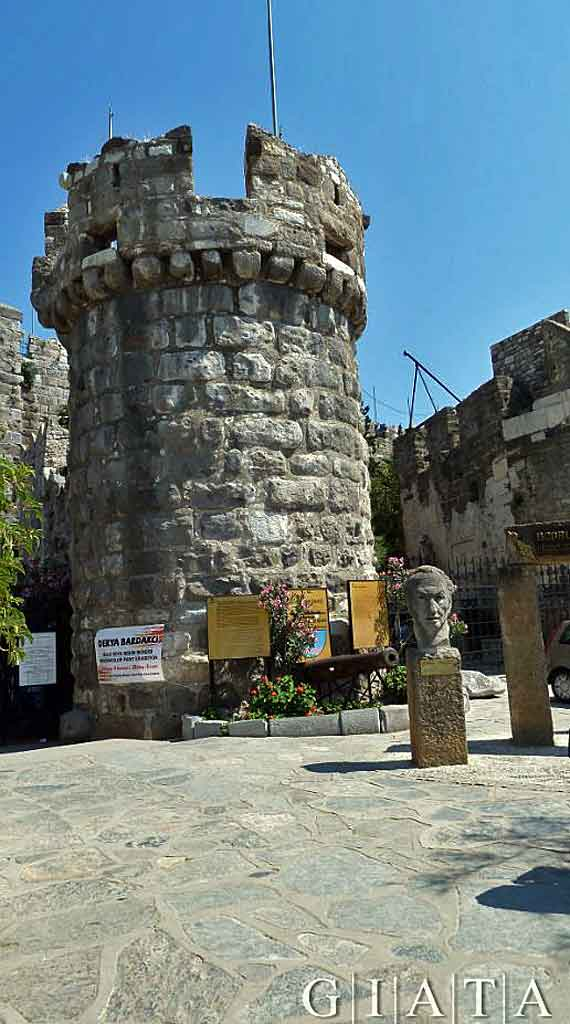 Türkei, Türkische Ägäis - Museum in Bodrum ( Urlaub, Reisen, Lastminute-Reisen, Pauschalreisen )