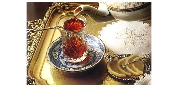 Tee, ein beliebtes Getränk in der Türkei