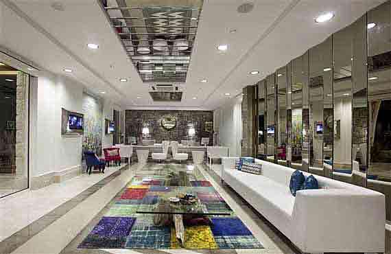 Hotel Voyage Bodrum Lobby - Halbinsel Bodrum, Türkei Südägäis (  Urlaub, Reisen, Lastminute-Reisen, Pauschalreisen )