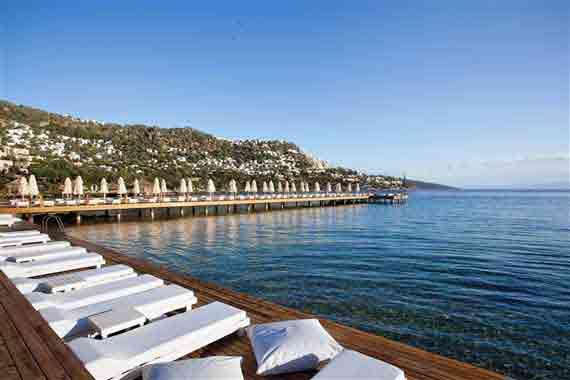 Hotel Voyage Türkbükü Beach - Halbinsel Bodrum, Türkei Südägäis ( Urlaub, Reisen, Lastminute-Reisen, Pauschalreisen )