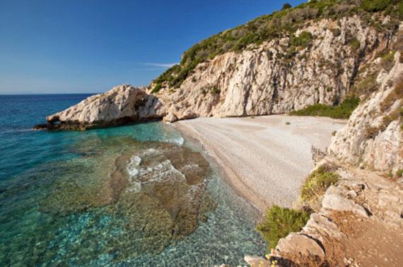 Griechische Insel Samos (Nordostägäische-Inseln) - Strand Micro Seitani ( Urlaub, Reisen, Lastminute-Reisen, Pauschalreisen )