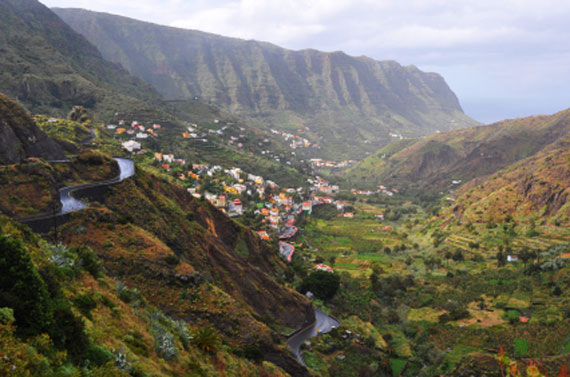 Kanaren, La Gomera - Landschaft ( Urlaub, Reisen, Lastminute-Reisen, Pauschalreisen )