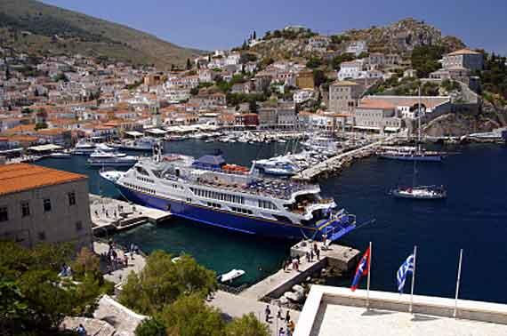 Griechenland, Griechische Insel Hydra (Saronische-Inseln) ( Urlaub, Reisen, Lastminute-Reisen, Pauschalreisen )