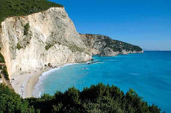 Griechische Insel Lefkas (Ionische-Inseln) - Westküste ( Urlaub, Reisen, Lastminute-Reisen, Pauschalreisen )