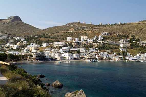 Griechische Insel Leros (Dodekanes Inseln) - Fischerdorf Panteli ( Urlaub, Reisen, Lastminute-Reisen, Pauschalreisen )